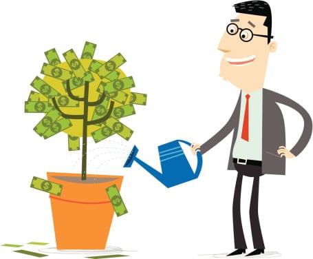 Growing a money tree
