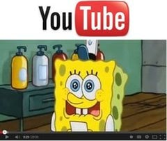 Spongebob on YouTube
