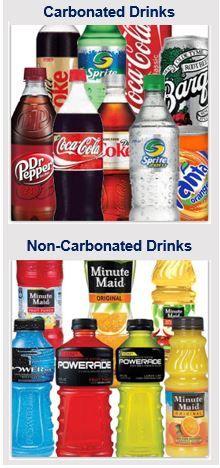 Coca-Cola soda sales fall