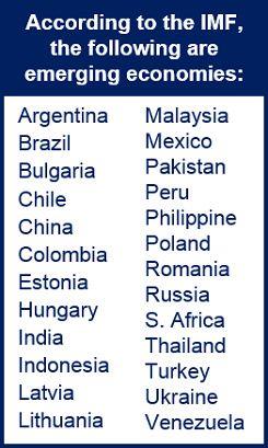 Emerging markets forecast