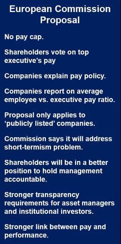 Shareholders should decide executive pay