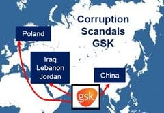 GSK bribery claims