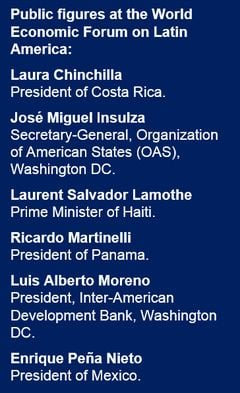 World Economic Forum public figures
