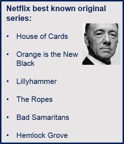 Netflix original content