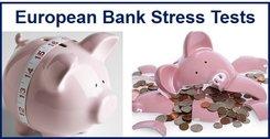 Tougher European bank stress tests