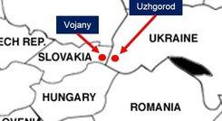 Slovakia Ukraine gas pipeline