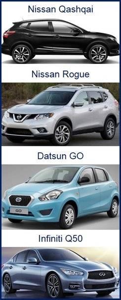 Nissan new models