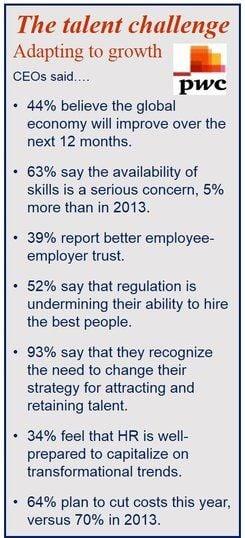 Skills gap concern